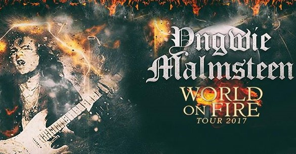 "YNGWIE MALMSTEEN ""WORLD ON FIRE TOUR"" CONCERT REVIEW – TOWER THEATER"